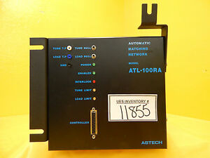 Rfpp Rf Power Products Atl 100ra Automatic Matching Network Astech Used Working
