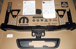 2014 17 Jeep Cherokee New Oem Mopar Hitch Receiver 2 Inch Class Iii 3 W Bezel