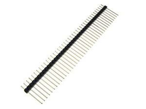 40 pin 1x40p 2 0mm Straight Male Header 19mm Long Pack Of 5