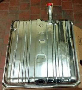 1958 Chevy Car Bel Air Biscayne Impala Stainless Fuel Gas Tank 16 Gallon Gm48a