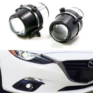 Direct Fit Projector Fog Lamps For Mazda 3 5 6 Mx 5 Cx 7 Hid Lights Compatible