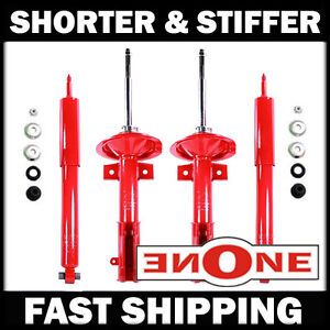 Mk1 Performance Stiff Shorter Shocks Struts For Lowered 05 10 Mustang V6 Gt 197