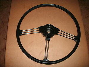 New Mgb Steering Wheel Top Quality Reproduction Of Oe Original 62 63 64 65 66 67