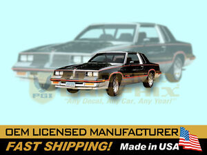 1983 Oldsmobile Hurst Olds Decals Stripes Kit