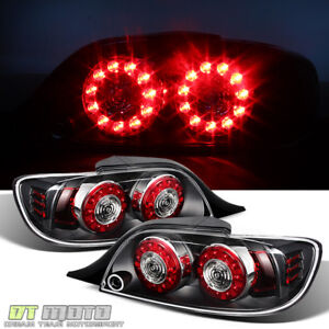 Black 2004 2008 Mazda Rx 8 Rx8 Led Tail Lights Rear Brake Lamps 04 08 Left right