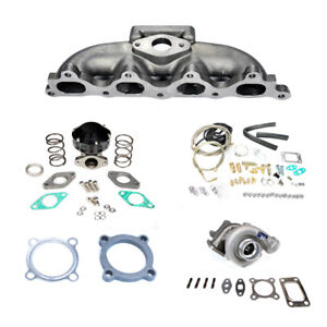 For Honda Accord 90 93 F22 48ar T3 Manifold Turbo Charger Set Up Kit