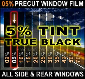 Precut All Sides Rears Window Film Black 5 Tint Shade For Ford F 150 Trucks