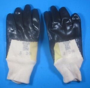 12 Pairs Nitrasafe Ansell Cut Resistant Gloves Size 8