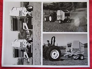 Vintage Vermeer New 5400 5500 Rebel Balers Dealer Intro Letter 3 Photographs