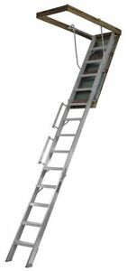 Louisville Al258p Everest Attic Ladder aluminum 350 Lb