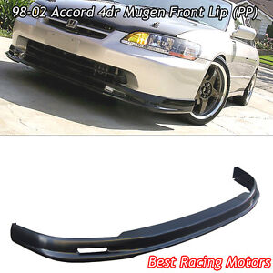 Mu Gen Style Front Bumper Lip Pp Fits 98 02 Honda Accord 4dr