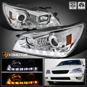 For 2001 2005 Lexus Is300 Led Signal Strip Facelift Style Projector Headlights