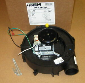Draft Inducer Furnace Blower Motor For Goodman 223075 01 119384 00 Rotom Rfb501