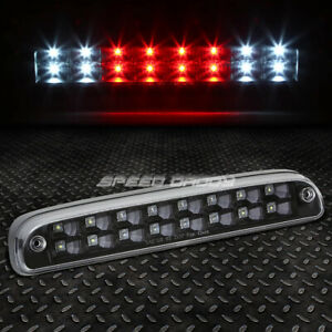 For 99 16 Ford Super Duty 2 Row Led Rear Third 3rd Tail Brake Light Lamp Black