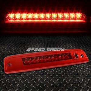 For 03 16 Ford Expedition Red Housing Led Third 3rd Tail Brake Light Lamp Bar