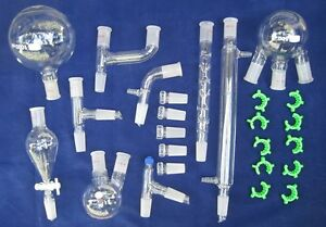 New Laboratory Glassware Kit With Joint Size 24 40