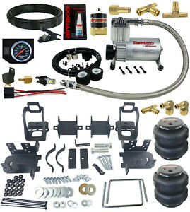 Rear Suspension Air Bag Tow Kit With On Board Control For 1999 04 Ford F250 F350