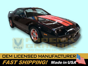 1991 1992 Chevrolet Camaro Z28 Rs Rally Sport Heritage Decals Stripes Kit