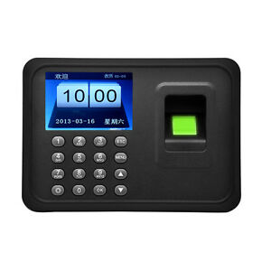 2 4 Usb Biometric Fingerprint Attendance Time Clocks Employee Payroll Recorder