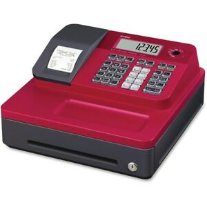 Casio Se g1sc rd Electronic Cash Register Thermal Print Red