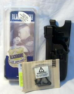 Blackhawk 44h513bk l Level 3 Serpra Holster Lh Police Duty Gear Black