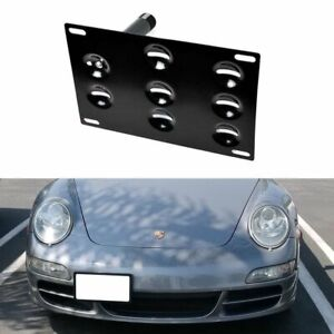 Bumper Tow Hook License Plate Mounting Bracket For Porsche 911 924 Boxster