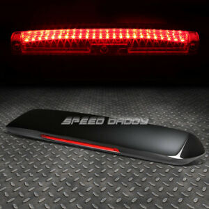 For Ek9 96 00 Civic 3dr Nrg Spoon Style Fiberglass Spoiler wing led Brake Light