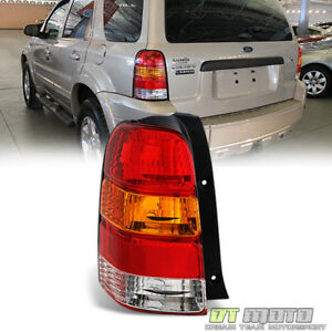 2001 2007 Ford Escape Tail Light Replacement Rear Brake Lamp Left Driver Side Lh