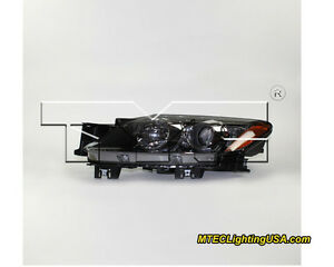 Tyc Left Side Xenon Hid Headlight Lamp Assembly For Mazda Cx 7 2007 2009