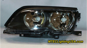 Tyc Left Side Halogen Headlight Lamp Assembly For Bmw E46 3 Series 2002 2005