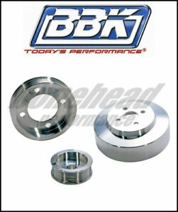 Bbk Performance 1554 Aluminum Underdrive Pulley Kit 1994 1995 Ford Mustang Gt