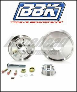 Bbk Performance 1559 Underdrive Pulley Kit 2001 2004 Ford Mustang Gt Svt 4 6l