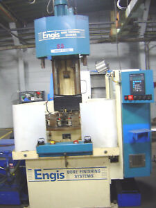 Engis H42 4 stage Production Hone Honing Bore Finishing Systems W Plc 1995
