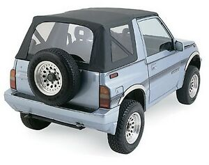 Rampage 98835 Factory Replacement Soft Top Fits 95 98 Sidekick Tracker Trail