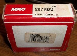 Mrc 207rdu Steel c3 abec 1 Ball Bearing bin9