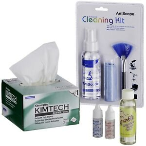 Amscope Microscope Operation And Maintenance Kit Immersion Oil