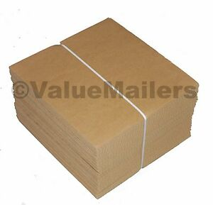 200 7 5 X 7 5 Corrugated Filler Insert Pads For 45 Rpm Record Mailers