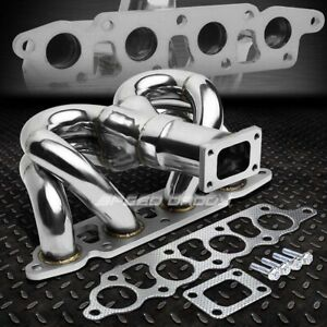 For 00 04 Ford Focus escape 2 0 Zx T25 Ram Horn Stainless Turbo Charger Manifold