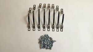 1959 Chevy Impala Belair Biscayne Tail Light Lens Trim Bars Set Left And Right