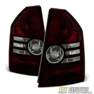 2008 2010 Chrysler 300 Base Touring Red Smoke Tail Brake Lights Lamps Left Right