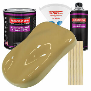 Buckskin Tan Gallon Kit Single Stage Acrylic Urethane Car Auto Body Paint Kit