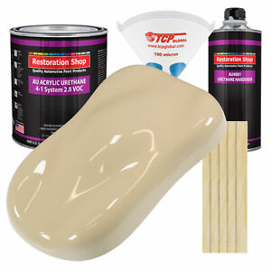 Ivory High Gallon Kit Single Stage Acrylic Urethane Car Auto Body Paint Kit