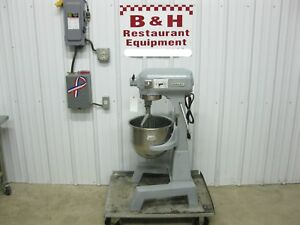 Hobart 20 Qt Heavy Duty Floor Model Bakery Mixer W Bowl Paddle A 200f