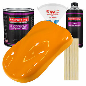 Speed Yellow Gallon Kit Single Stage Acrylic Urethane Car Auto Body Paint Kit