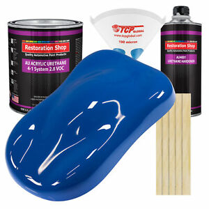 Reflex Blue Gallon Kit Single Stage Acrylic Urethane Car Auto Body Paint Kit
