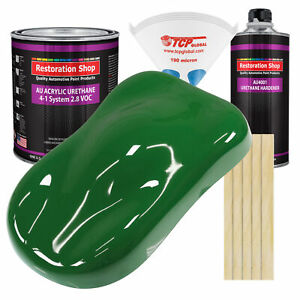 Emerald Green Gallon Kit Single Stage Acrylic Urethane Car Auto Body Paint Kit