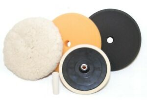 Detailing Buffing Polishing Pad Kit set Polish Auto Car