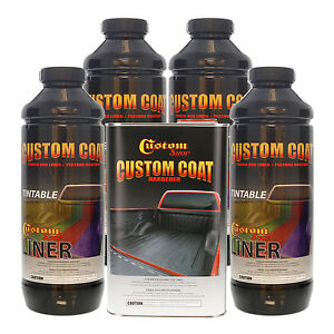 Bed Liner Custom Coat Tintable 4 L Urethane Spray On Truck Kit