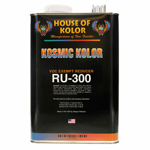 1 Gallon Ru300 Ru 300 House Of Kolor Voc Exempt Reducer