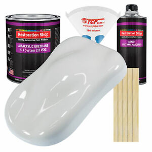 Championship White Gallon Kit Single Stage Acrylic Urethane Auto Paint Kit